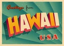 Aloha aus Hawaii, USA