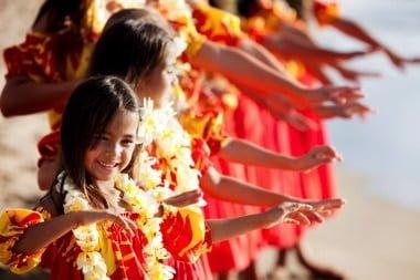 Die hawaiianische Kultur wird heute weiter gegeben