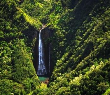 Bekannt aus Jurassic Park: Die Manawaiopuna Falls