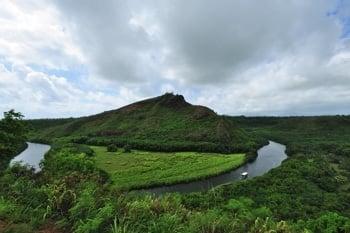 Kanu fahren am Wailua River