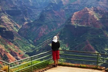Atemberaubender Blick am Waimea Canyon