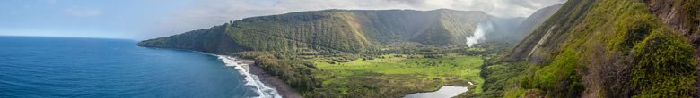 Waipio Valley auf Big Island Hawaii