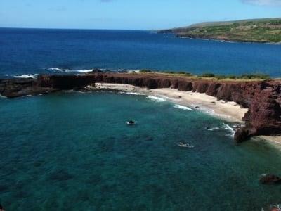 Hulopoe Bay ist eine der Traumstrände auf Lanai
