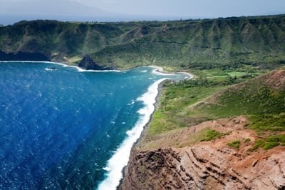Molokais atemberaubende Küste