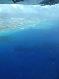 Der Flughafen von Oahu endlich erreicht